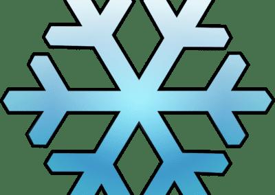sneeeuwvlok-blauw